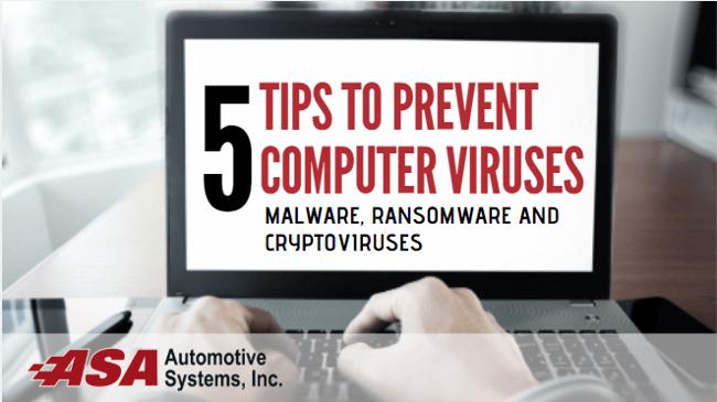 ASA Prevent Falling Victim to Computer Viruses