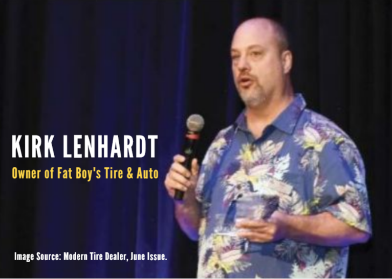 Kirk Lenhardt, Owner of Fat Boy's Tire & Auto-1