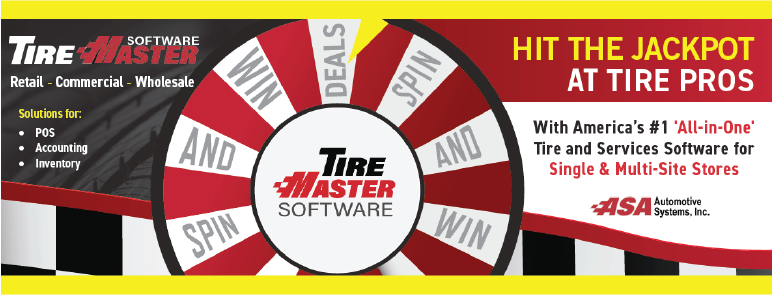 TireMaster Spin & Win at the Tire Pros Show